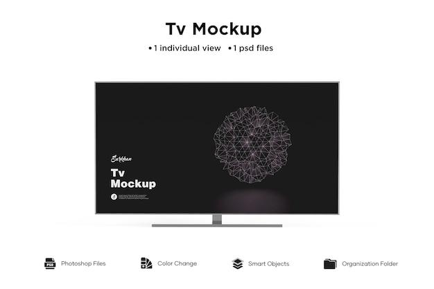 Qualidade de maquete de tv