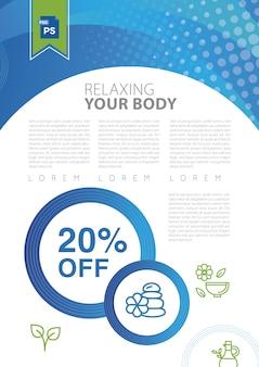 Relaxe seu corpo em um spa