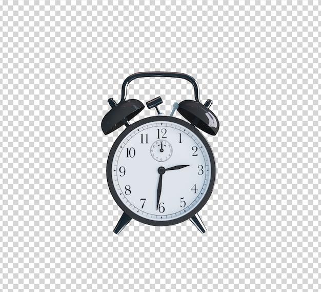 Relógio de renderização 3d de decoração