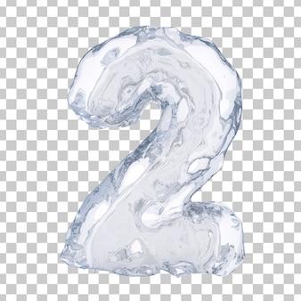 Renderização 3d de gelo número 2