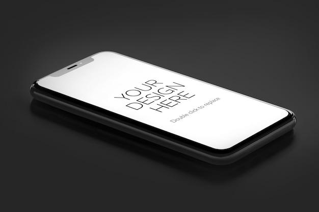 Renderização 3d de maquete de dispositivos isolados