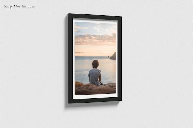 Renderização 3d frame mockup design