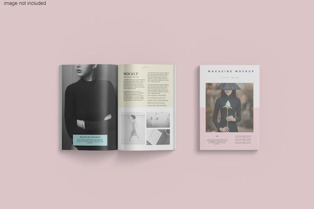 Renderização de maquetes de revistas