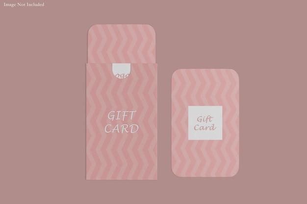 Renderização do projeto da maquete do cartão-presente