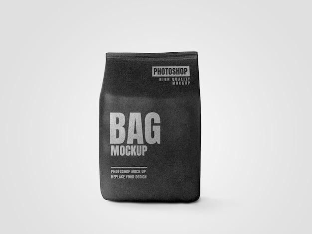 Renderização realista de maquete de saco