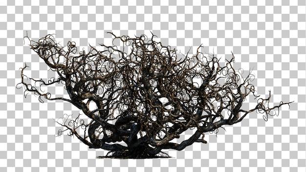 Rendição 3d da árvore assustador da morte