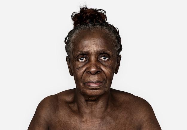 Retrato, de, um, congolês, mulher