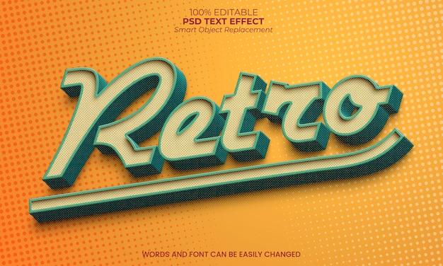 Retro texteffect