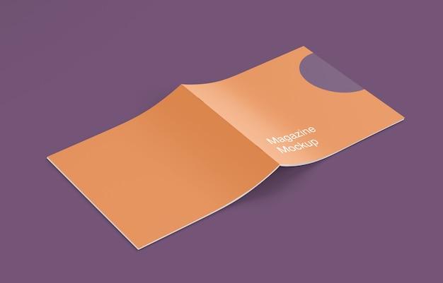 Revista fechada ou maquete de brochura