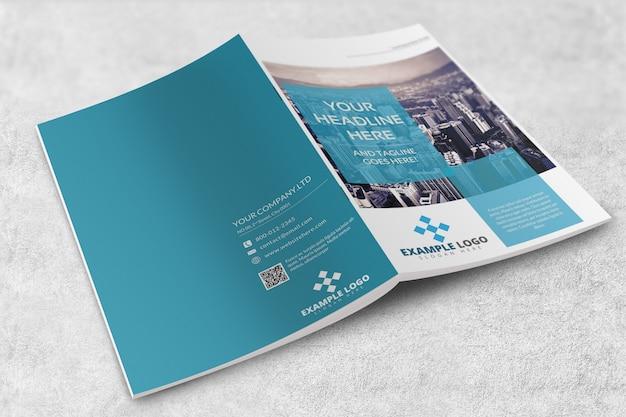 Revista ou brochura mockup
