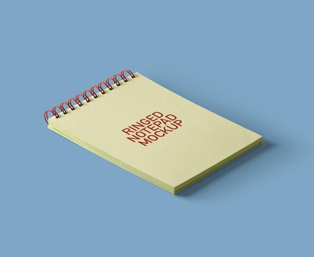 Ring-notepad-mockup