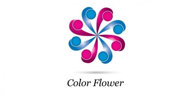 Roda logo design floral