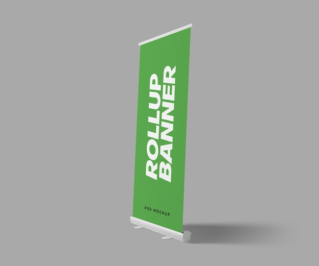 Roll up banner maquete