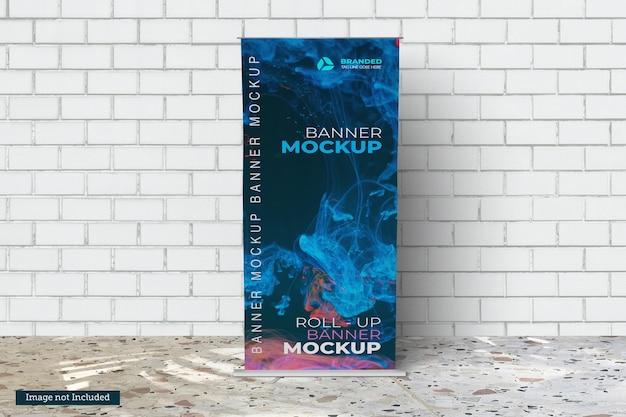 Roll up banner mockups