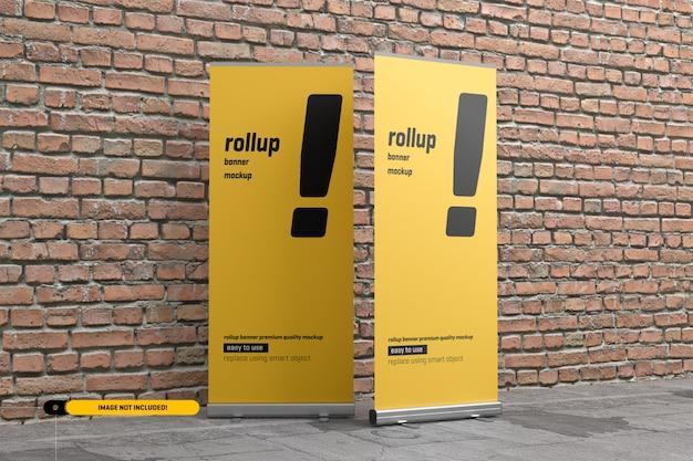 Rollup ou maquete de banner x