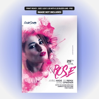 Ruse poster com objetos editáveis