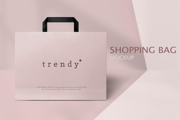 Sacola de compras editável