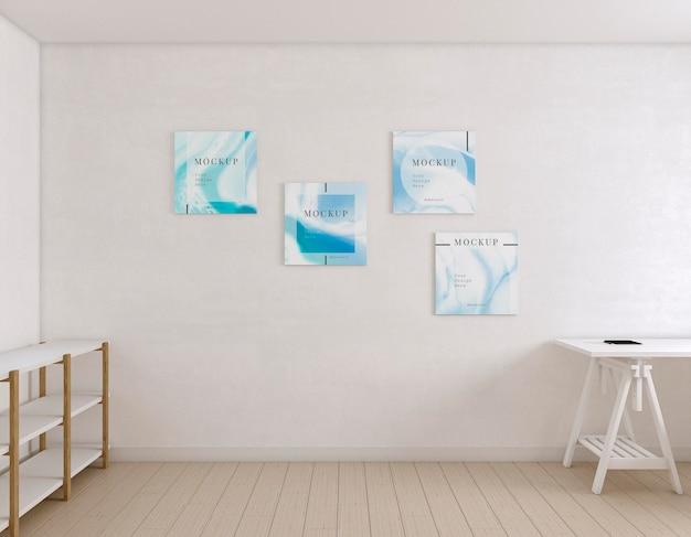 Sala do artista interna