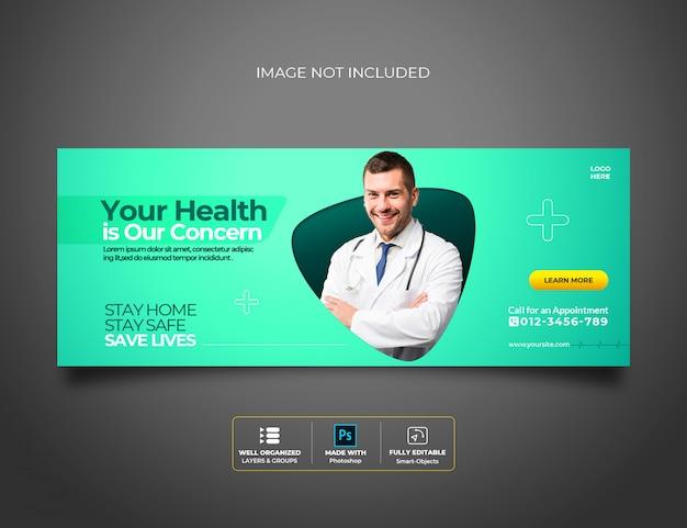 Saúde médica sobre coronavírus Psd Premium