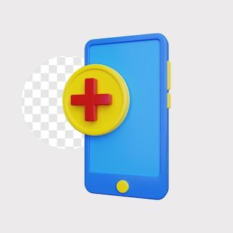 Saúde online 3d