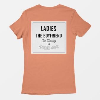 Senhoras, o namorado tee maquete