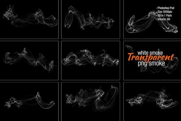 Separação de fumaça branca