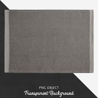 Serviço de tecido cinza transparente