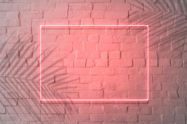 Seu design aqui sinal de néon