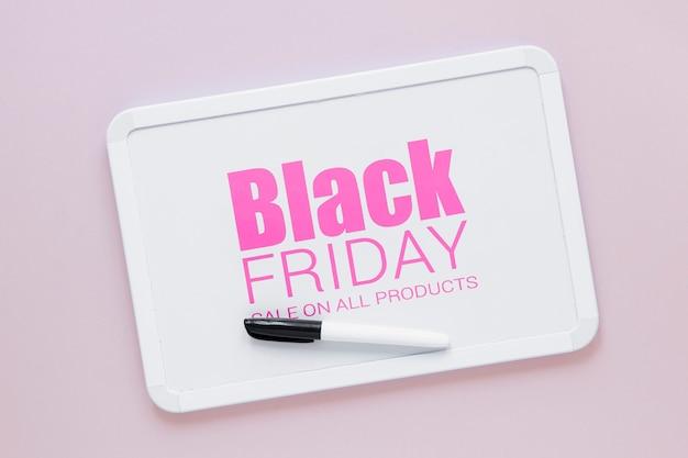 Sexta-feira negra com ofertas especiais