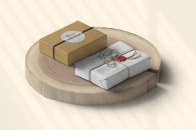 Showcase box mockup