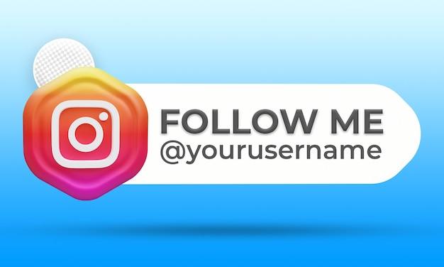 Siga-nos no terceiro banner do instagram inferior