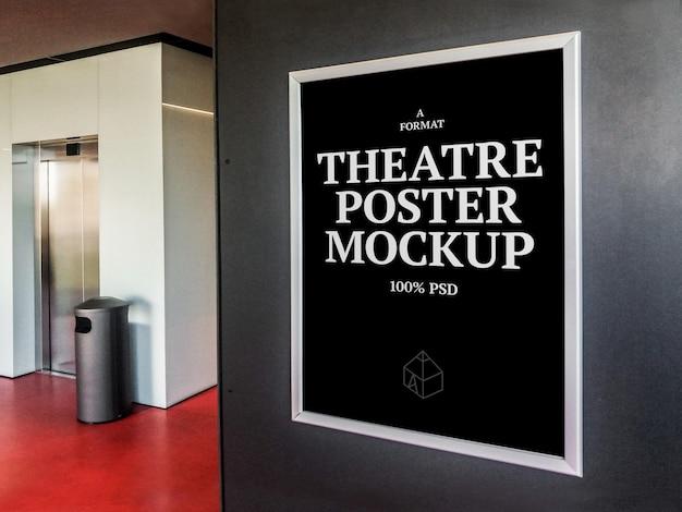 Simulação de pôster de teatro