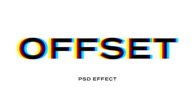 Simulação de título de falha colorida
