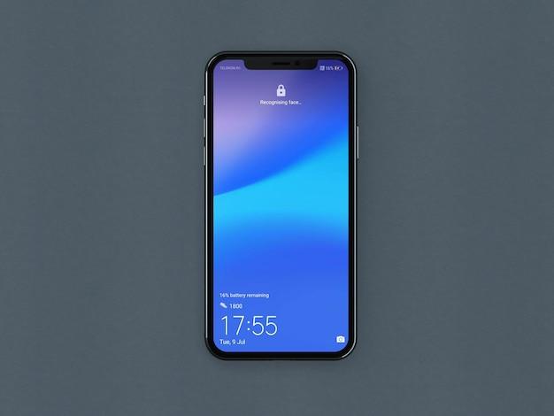 Smart phone mobile mockup