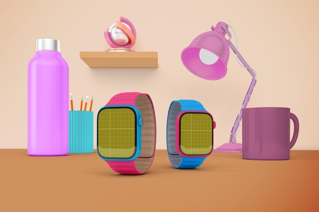 Smart watch desktop