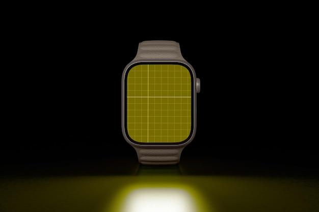 Smart watch no escuro