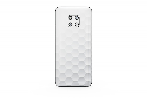 Smartphone mock-up isolado