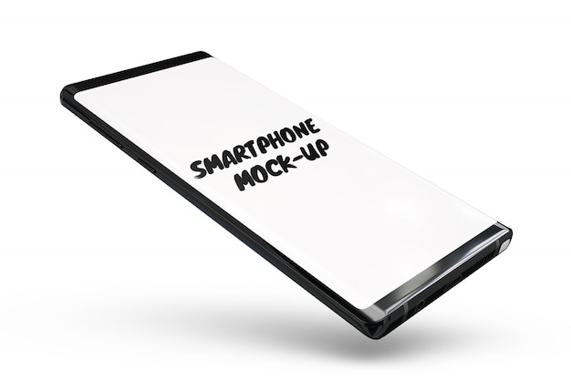 Smartphone mock-up isolado