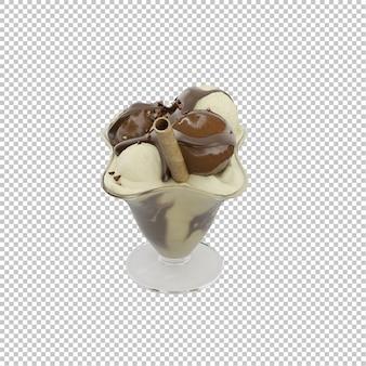 Sobremesa isométrica