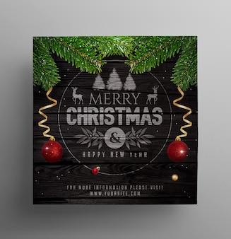 Social post festa de natal
