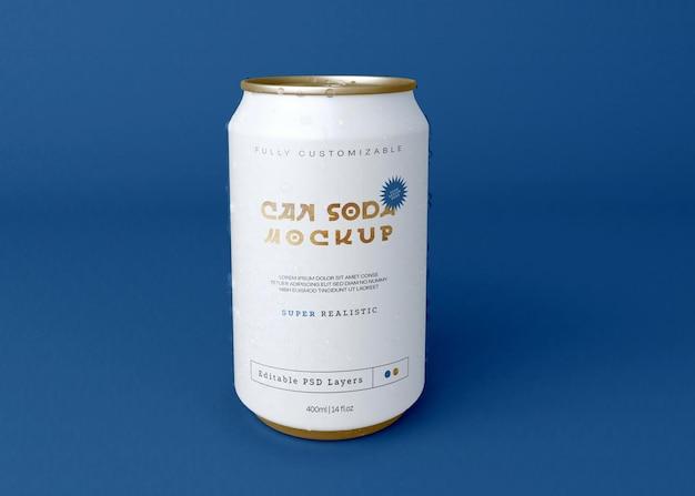 Soda can maquete