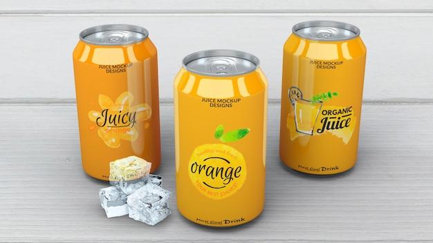 Soda pode maquete