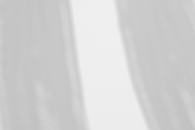 Sombra de cortinas na parede