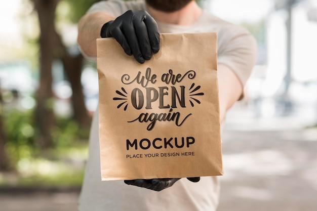 Somos um mock-up de conceito aberto