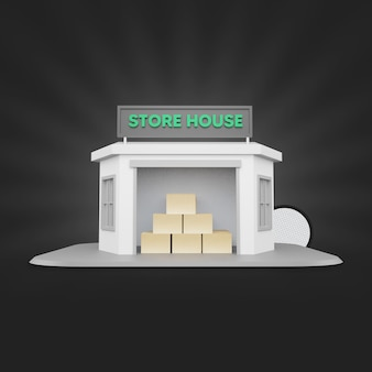 Store house 3d