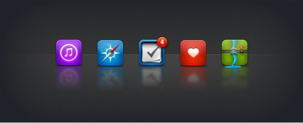 Substituição icons ios