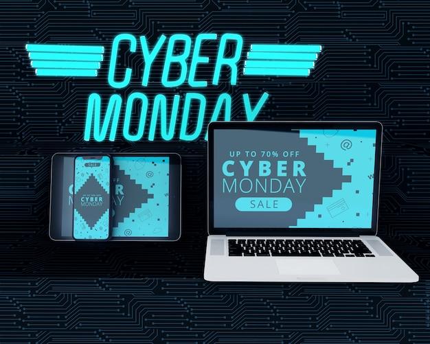 Super desconto cyber segunda-feira venda