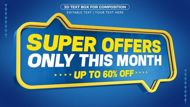 Super oferta apenas este mês com até desconto na renderização 3d