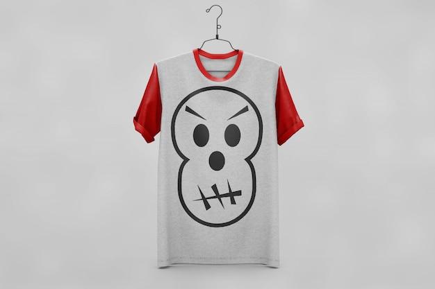 T-shirt criativo se maquete