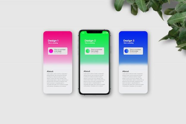 Tablet 11 pro app mockup